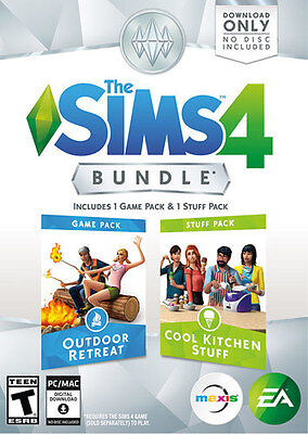 The Sims 4 Outdoor Retreat   Cool Kitchen Bundle   Windows