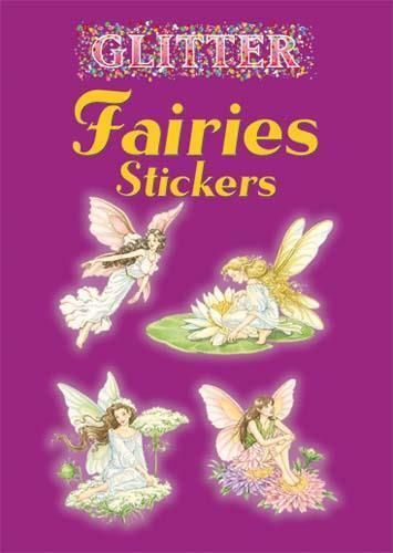 Fairies Glitter Stickers Little Book Darcy May