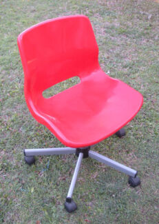 Red Office Chair $15 Albion Brisbane North East Preview
