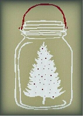 Christmas in a Jar - AAN498 - Adelaide Needleworks - Cross Stitch Pattern  (Christmas In A Jar)