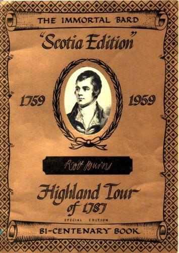 Robert Burns: The Man, His Life, the Legend