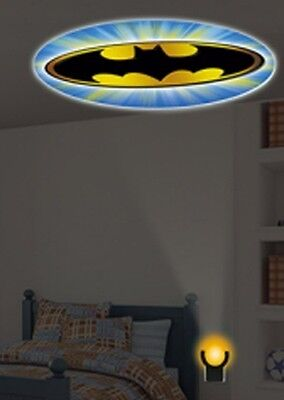 Party Birthday Halloween Light Bat Signal On Ceiling or Wall Batman Comics