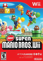 MINT LIKE SUPER MARIO BROS WII GAME