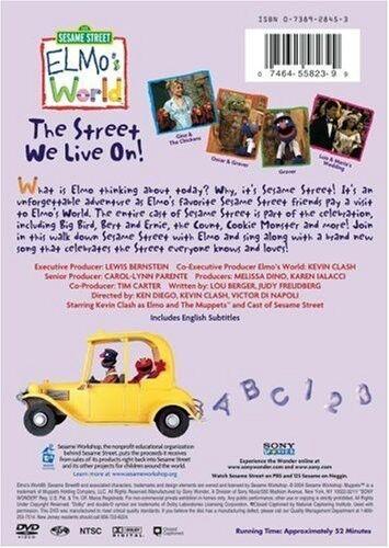 Sesame Street: Elmo's World - The Street We Live On! 35th Annive (2004, DVD NEW)