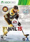 NHL 15 Microsoft Xbox 360 Video Games