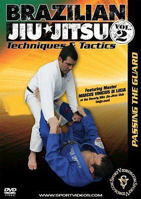 Brazilian Jiu-Jitsu Techniques and Tactics DVD Passing the Guard - Free Shipping