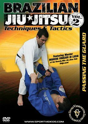 Brazilian Jiu-Jitsu Techniques and Tactics: Passing the Guard Vol 2 (New DVD)