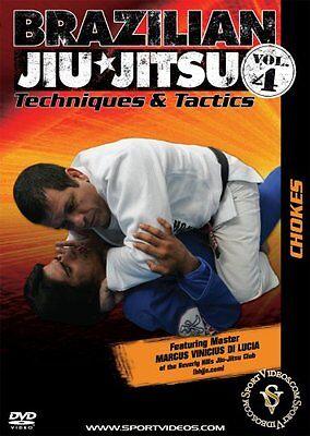 Brazilian Jiu-Jitsu Techniques and Tactics DVD - Vol. 4: Chokes - Free Shipping