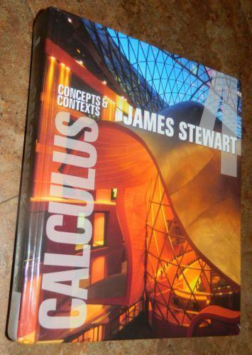Calculus concepts and contexts books ebay fandeluxe Image collections