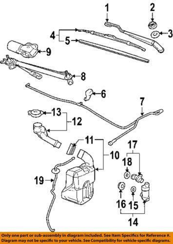 Windshield Washer Hose Ebay