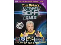 JOB LOT 50 x Tom Baker Ultimate Sci-Fi Quiz - Interactive DVD Games IN SEALED CASES