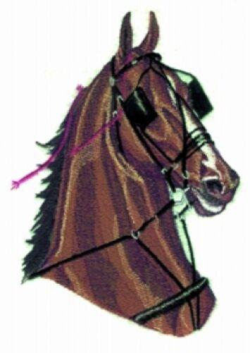 Embroidered Fleece Jacket - Harness Horse BT2714 Sizes S - XXL