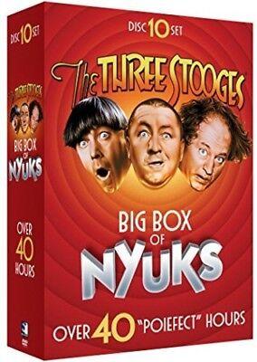 Three Stooges (2017, DVD NEUF)10 DISC SET (Three Stooges 2017)