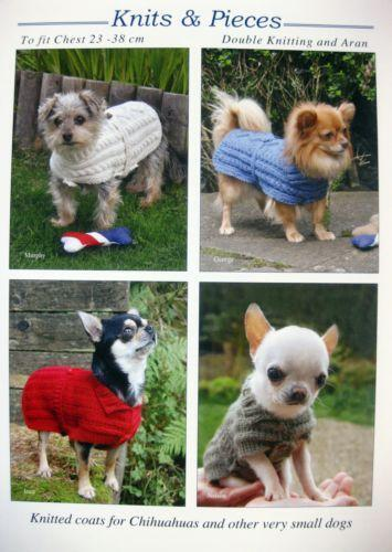 Dog Coat Knitting Pattern Ebay