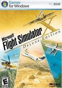 Microsoft Flight Simulator X+Deluxe Edition 2006 Video Game