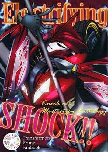 "Transformers prime illust anthology Doujinshi ""Electrifying SHOCK""    (Cyber11)"