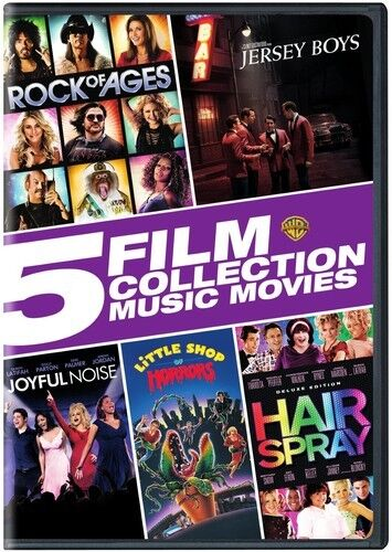 5 Film Collection: Music Movies [new Dvd]