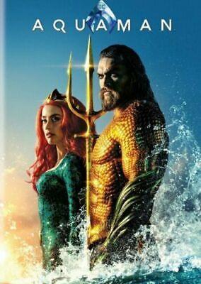 Aquaman (DVD 2018) (DVD 2019)  FREE SHIPPING