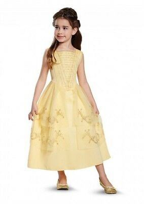 Disney Beauty and the Beast Movie Belle Ball Gown Classic Toddler Child Costume](Belle Child Costume)