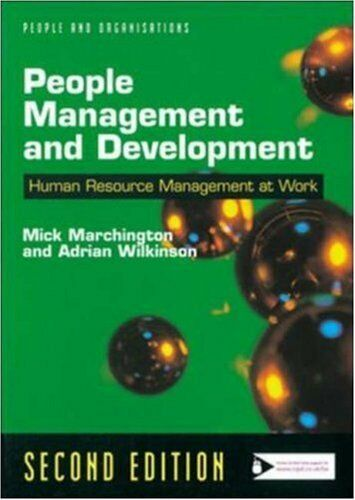 People Management and Development (People & organizations),Mick Marchington, Ad