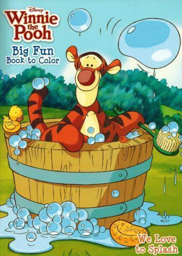 winnie the pooh coloring book ebay. Black Bedroom Furniture Sets. Home Design Ideas
