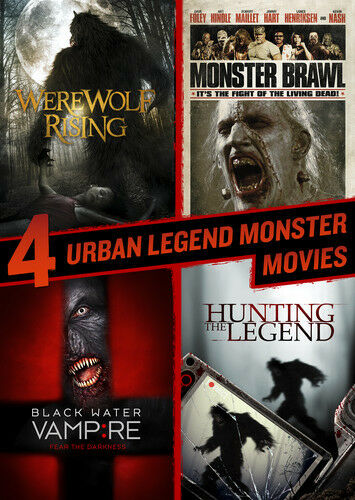 Hunting The Legend / Black Water Vampire / Monster (2015, DVD NEW)