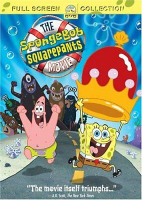 The Spongebob Squarepants Movie  Full Sc Dvd