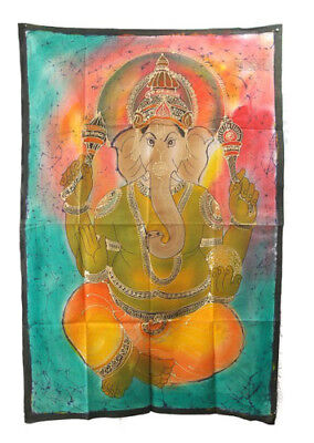 Batik Ganesh Elephant 115x 74cm Peterandclo 09