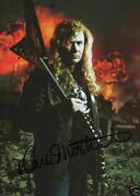 Megadeth Signed