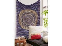 Beautiful Bohemian tapestry wall hanging from Handicrunch