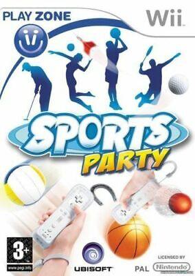 Sports Party Wii Nintendo jeu jeux game games spelletjes spellen 1888