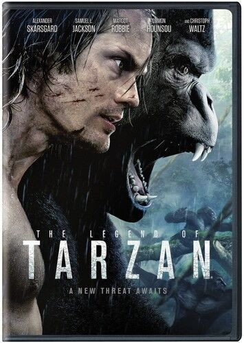 Legend Of Tarzan - 2 DISC SET (2016, REGION 1 DVD New)