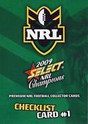 2009 Select NRL Champions