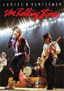 BRAND NEW Ladies and & Gentlemen... The Rolling Stones LIVE CONCERT MUSIC DVD
