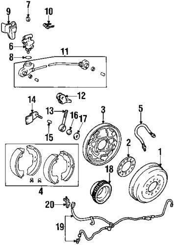 1997 Toyota Tacoma Diagram Construction