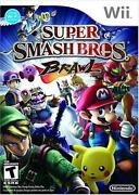 Super Smash Bros Brawl Wii New