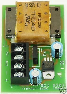 Bryant Bci 8202 Vibratory Feeder Control Power Supply
