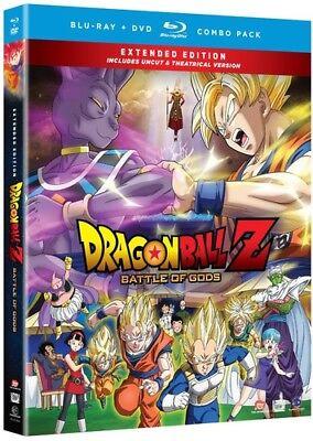 Dragon Ball Z: Battle of Gods [New Blu-ray] With DVD, Director's Cut/Ed, (Blu Ray Dragon Ball Z Battle Of Gods)