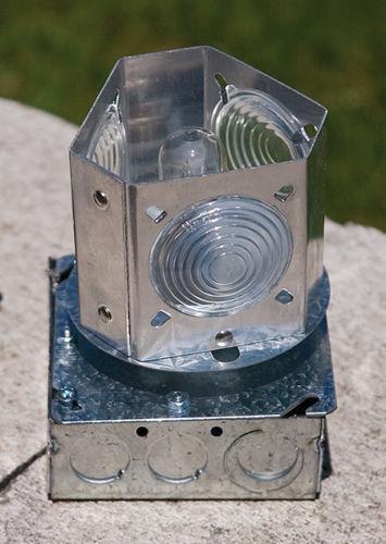 Solar Outdoor Lighthouse Ebay