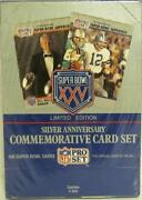 Super Bowl XXV Commemorative Card Set