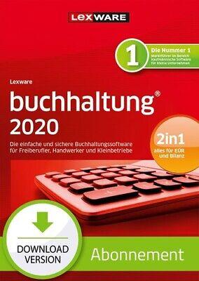 Lexware buchhaltung (ehm. buchhalter) 2020 - Abo Version, Download, Windows PC