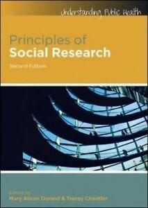 Principles of Social Research,