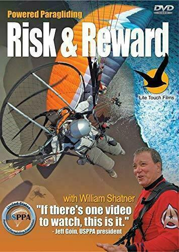 PPG Risk & Reward DVD for Powered Paragliding,PPG