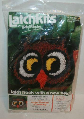 Owl Latch Hook Kit Ebay