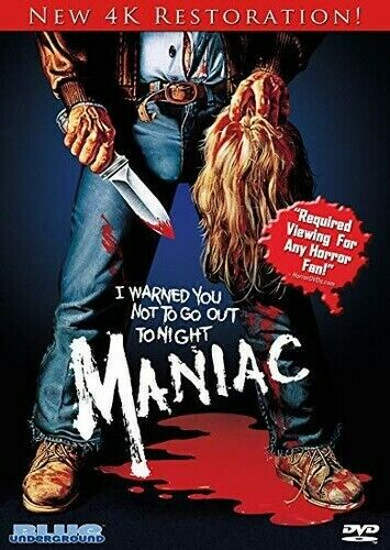 Maniac (4k Restoration) [new Dvd]