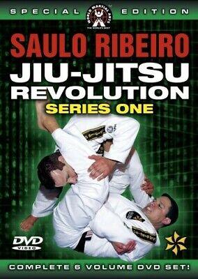 Saulo Ribeiro Brazilian Jiu-Jitsu Revolution Series One. Six Volume DVD Instruct