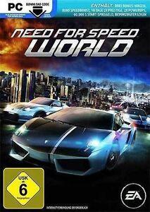 PC Computer Spiel ***** NFS World Need for Speed ************************NEU*NEW