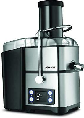 Gourmia GJ1350 Stainless Brace Wide Mouth Whole Fruit Juicer | Digital Display