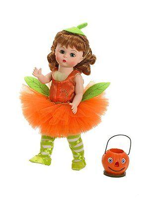 "Madame Alexander 8"" Doll Pumpkin Patch Pirouette 47775 Retired Brand New NRFB"