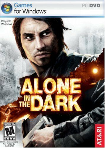 Computer Games - Alone In The Dark PC Games Windows 10 8 7 XP Computer action adventure horror